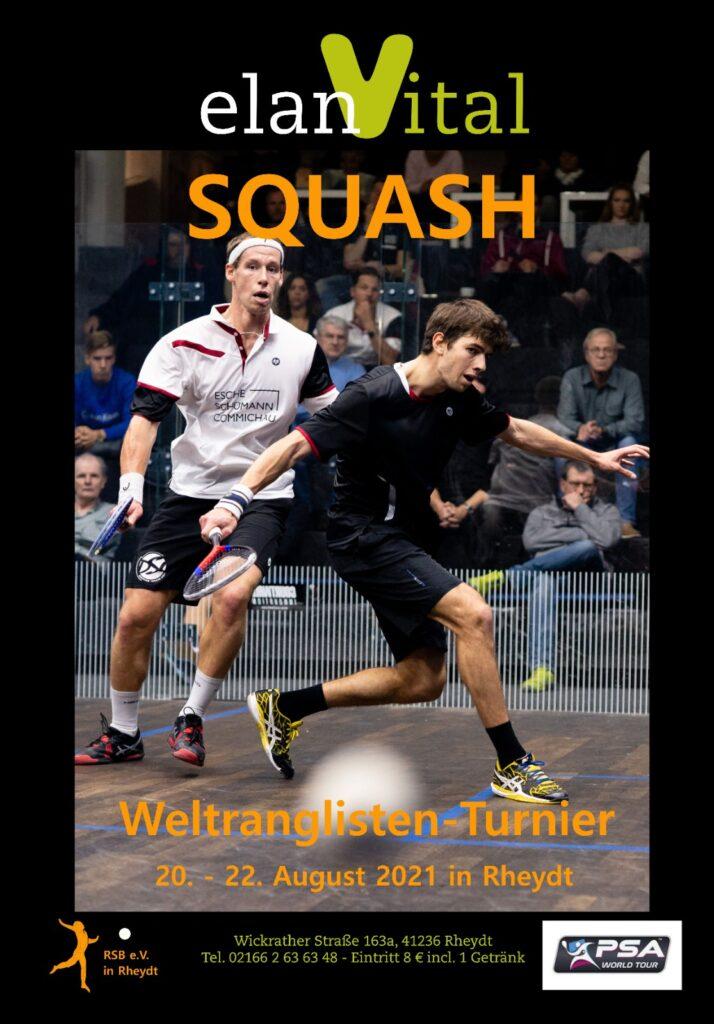Mönchengladbach: Turnierplakat für elan Vital Open 2021 veröffentlicht –  DSQV